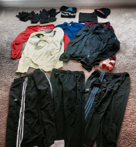 cold weather running clothes